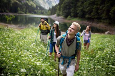 Reisen in die Natur können wir in nur weiterhin erleben, wenn wir unsere Umwelt schützen.