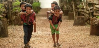 Freiwilligenarbeit in Burma