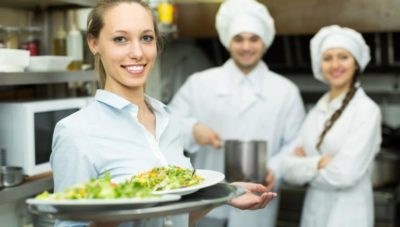 Jobben im Restaurant