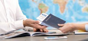 Buchung einer Sprachreise über einen Sprachreiseveranstalter